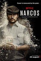 """""""Narcos"""" - Swedish Movie Poster (xs thumbnail)"""