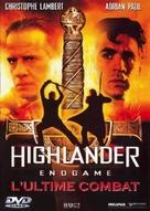 Highlander: Endgame - French DVD movie cover (xs thumbnail)