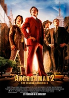 Anchorman 2: The Legend Continues - Dutch Movie Poster (xs thumbnail)
