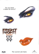 Fright Night Part 2 - Canadian DVD movie cover (xs thumbnail)