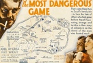The Most Dangerous Game - poster (xs thumbnail)