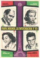 Papa, maman, la bonne et moi... - Spanish Movie Poster (xs thumbnail)