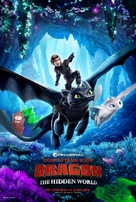 How to Train Your Dragon: The Hidden World - Malaysian Movie Poster (xs thumbnail)