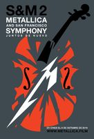Metallica & San Francisco Symphony - S&M2 - Argentinian Movie Poster (xs thumbnail)