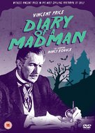 Diary of a Madman - British DVD cover (xs thumbnail)