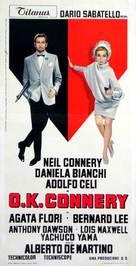 OK Connery - Italian Movie Poster (xs thumbnail)
