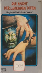 Night of the Living Dead - German VHS cover (xs thumbnail)