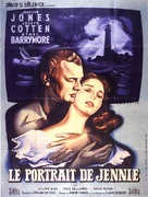 Portrait of Jennie - French Movie Poster (xs thumbnail)