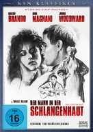 The Fugitive Kind - German DVD movie cover (xs thumbnail)