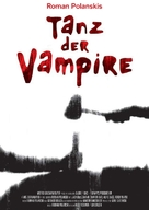 Dance of the Vampires - German Re-release movie poster (xs thumbnail)