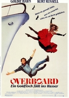 Overboard - German Movie Poster (xs thumbnail)