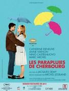 Les parapluies de Cherbourg - French Re-release poster (xs thumbnail)