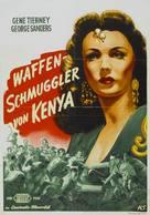 Sundown - German Movie Poster (xs thumbnail)