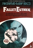 The Story of Esther Costello - Swedish Movie Poster (xs thumbnail)