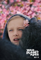 War for the Planet of the Apes - Movie Poster (xs thumbnail)