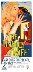 The Unholy Wife - Australian Movie Poster (xs thumbnail)
