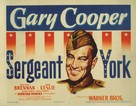 Sergeant York - Movie Poster (xs thumbnail)