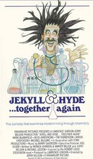Jekyll and Hyde... Together Again - VHS cover (xs thumbnail)