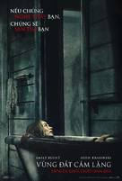 A Quiet Place - Vietnamese Movie Poster (xs thumbnail)