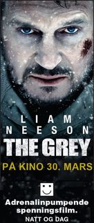 The Grey - Norwegian Movie Poster (xs thumbnail)
