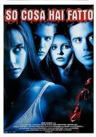I Know What You Did Last Summer - Italian Movie Poster (xs thumbnail)