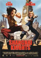Shanghai Knights - German Movie Poster (xs thumbnail)