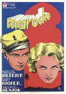 Morocco - Swedish Movie Poster (xs thumbnail)