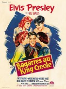 King Creole - French Movie Poster (xs thumbnail)