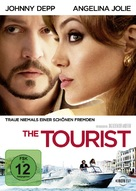 The Tourist - German DVD cover (xs thumbnail)