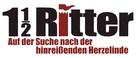 1 1/2 Ritter - Auf der Suche nach der hinreißenden Herzelinde - German Logo (xs thumbnail)