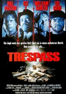 Trespass - German Movie Poster (xs thumbnail)