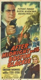 After Midnight with Boston Blackie - Movie Poster (xs thumbnail)