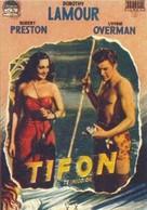 Typhoon - Spanish Movie Poster (xs thumbnail)