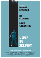 The Serpent's Egg - French Re-release poster (xs thumbnail)