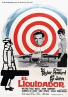 The Liquidator - Spanish Movie Poster (xs thumbnail)