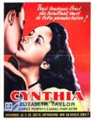 Cynthia - Belgian Movie Poster (xs thumbnail)