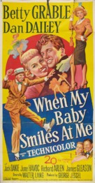 When My Baby Smiles at Me - Movie Poster (xs thumbnail)
