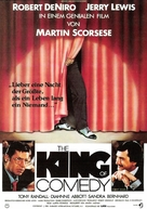 The King of Comedy - German Movie Poster (xs thumbnail)