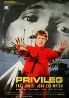 Privilege - German Movie Poster (xs thumbnail)