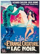 Creature from the Black Lagoon - French Movie Poster (xs thumbnail)