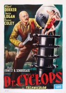 Dr. Cyclops - Italian Re-release movie poster (xs thumbnail)