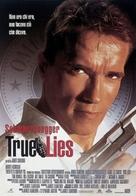 True Lies - Italian Movie Poster (xs thumbnail)