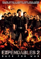 The Expendables 2 - Finnish DVD movie cover (xs thumbnail)