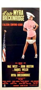 Myra Breckinridge - Italian Movie Poster (xs thumbnail)