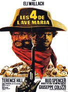 I quattro dell'Ave Maria - French Movie Poster (xs thumbnail)