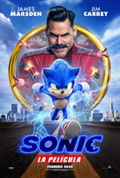 Sonic the Hedgehog - Spanish Movie Poster (xs thumbnail)
