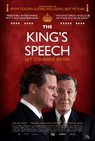 The King's Speech - British Movie Poster (xs thumbnail)