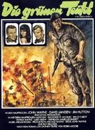 The Green Berets - German Movie Poster (xs thumbnail)