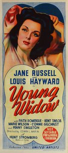 Young Widow - Australian Movie Poster (xs thumbnail)