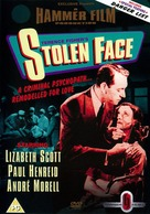 Stolen Face - British DVD cover (xs thumbnail)